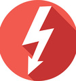 Lighting Bolt Icon vector image