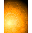 Bright abstract tech drawing vector image vector image