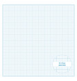 printable graph paper 12x12 inch size vector image