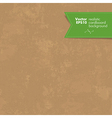 realistic cardboard background vector image