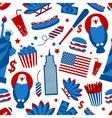 New York USA seamless pattern vector image vector image