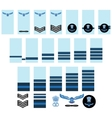 Indian Air Force insignia vector image vector image