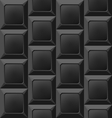 Geometric Black Seamless Pattern Abstract vector image