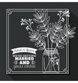 Married Invitation design vector image