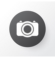 photo icon symbol premium quality isolated camera vector image