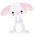 Farm animals Bunny vector image