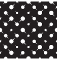 Seamless pattern background with dots arrows vector image vector image