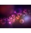 Abstract bokeh effect vector image