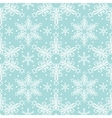 Christmas lace pattern vector image