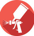 Spraygun Icon vector image