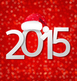 Blurred New Year Card vector image