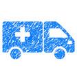 drug shipment grunge icon vector image