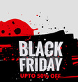 creative black friday sale vector image