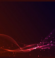 futuristic abstract speed swoosh bokeh light line vector image