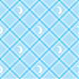 Seamless wallpaper Blue checkered background vector image