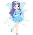 fairy winter vector image