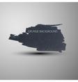 Grunge marker stain banner brushed ink texture vector image