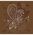 abstract floral ornate vector image