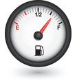 Car fuel gauge vector image vector image