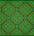 bright seamless indian pattern paisley mandala on vector image