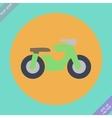 Motorcycle symbol vector image