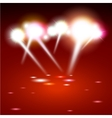 spot lighting background vector image