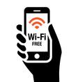 Wi-Fi free icon vector image