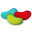 Jelly beans vector image vector image
