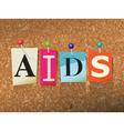 AIDS Concept vector image vector image