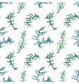 Seamless pattern with juniper brunches vector image vector image