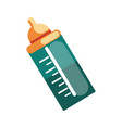 baby bottle icon accessory necessary for vector image