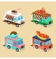 Food Truck Designs Set of vector image