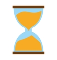 hourglass time icon image vector image
