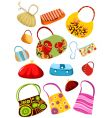 purse set vector image vector image
