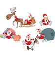 Cartoon of Santa Claus vector image