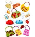 purse set vector image