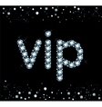 Diamond Vip Sign vector image vector image