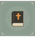 holly bible vector image