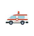 medical ambulance car isolated vector image