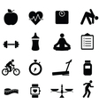 Healhy icons vector image