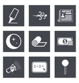 Icons for Web Design and Mobile Applications set 8 vector image