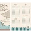marine inhabitants vector image vector image