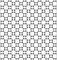Abstract black and white seamless pattern in vector image