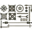 Celtic traditional elements vector image