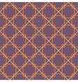 Seamless square pattern Purple background vector image