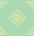 wallpaper in abstract style green and yellow a vector image
