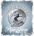 surf pacific vector image