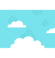 Background the sky vector image