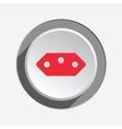 Electric plug socket base icon Brazilian vector image