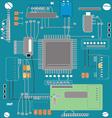 Computer Board vector image